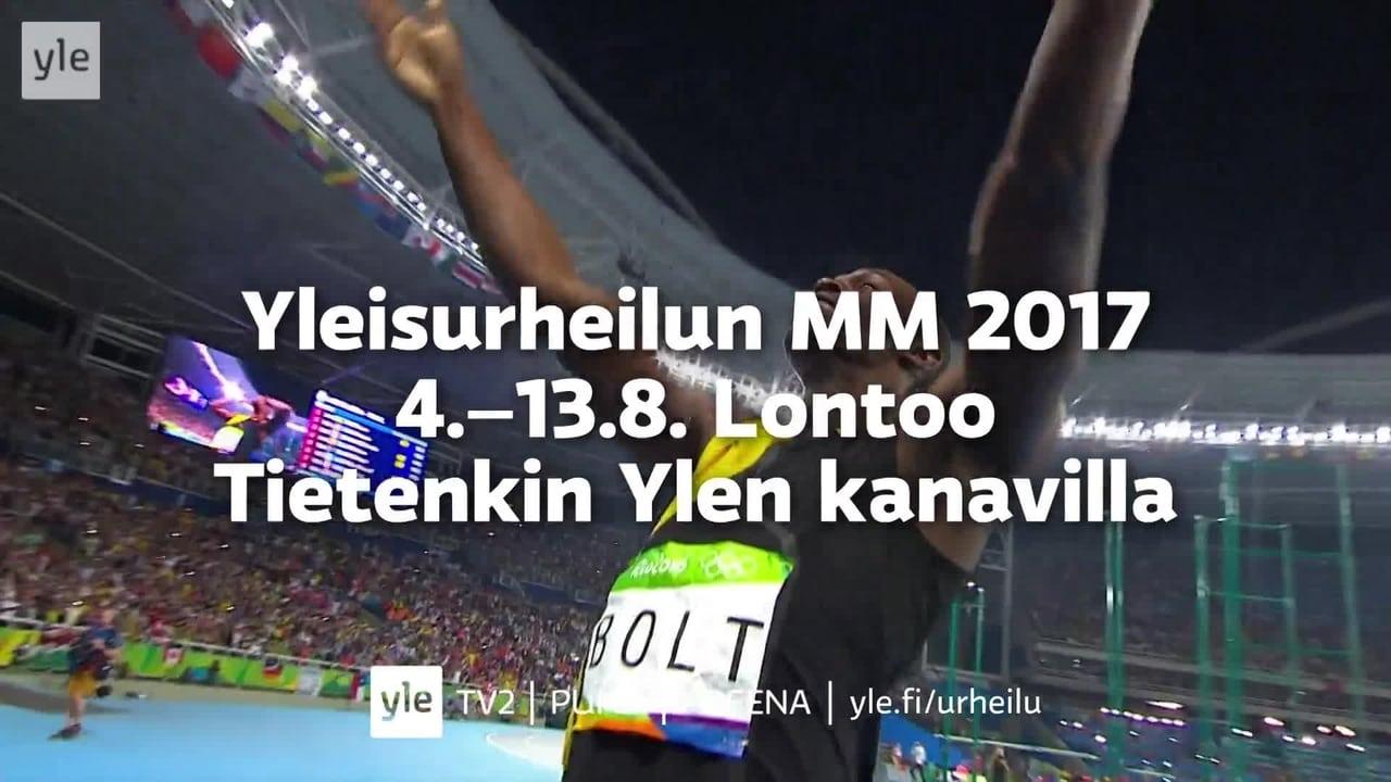 Yleisurheilun MM 2017 Lontoo | Traileri | TV | Areena | yle.fi