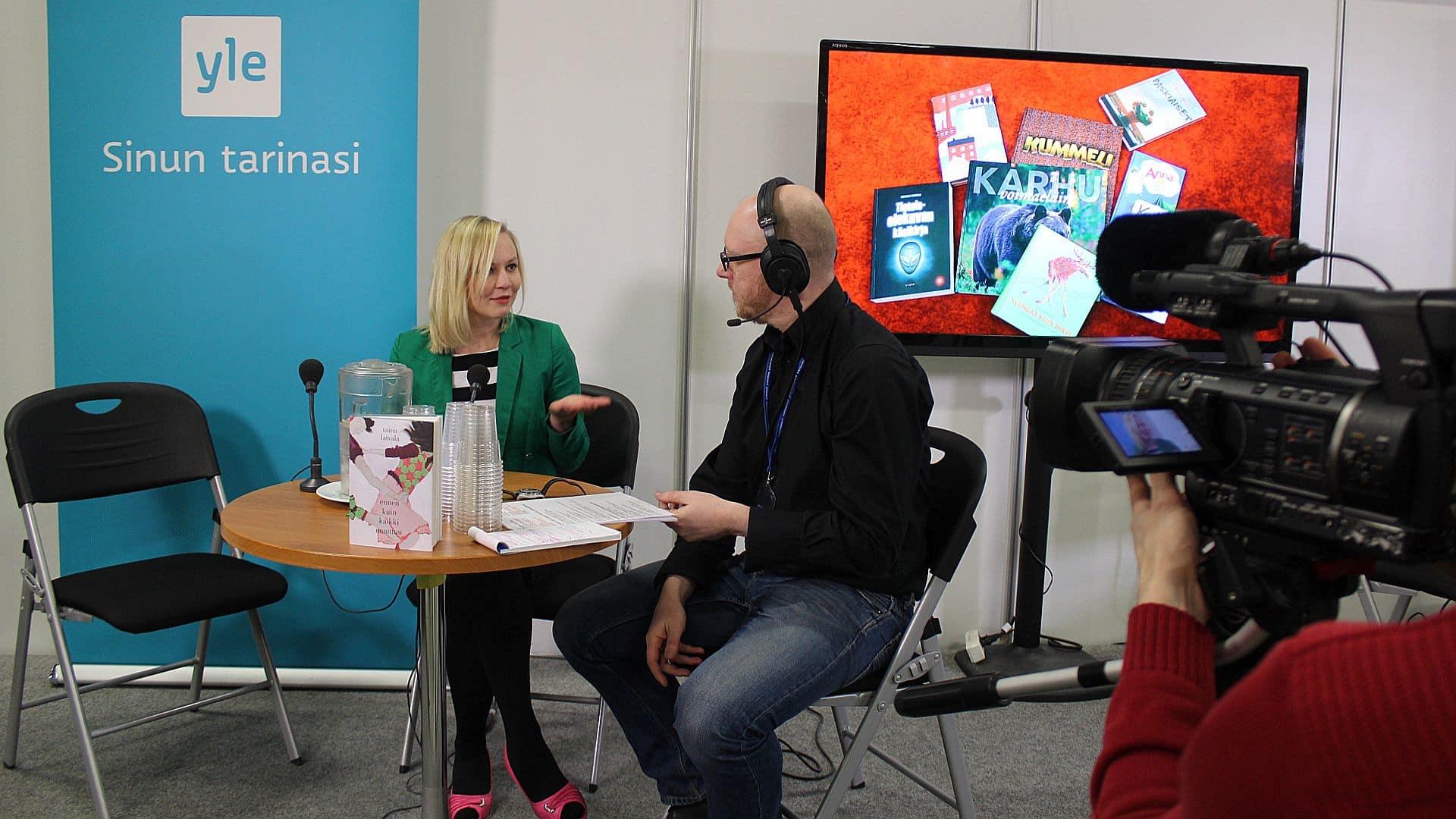 Yle Jyväskylä kirjamessuilla osa 1 | TV | Areena | yle.fi
