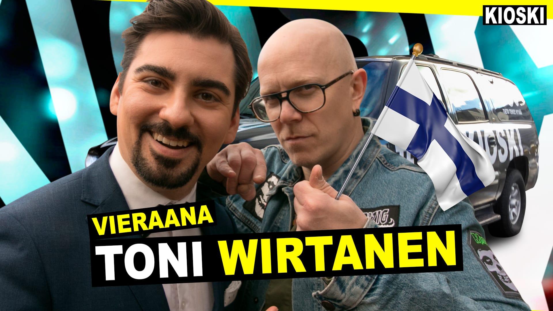 Toni Wirtanen Mika On Parasta Suomessa Kioski Show Tv