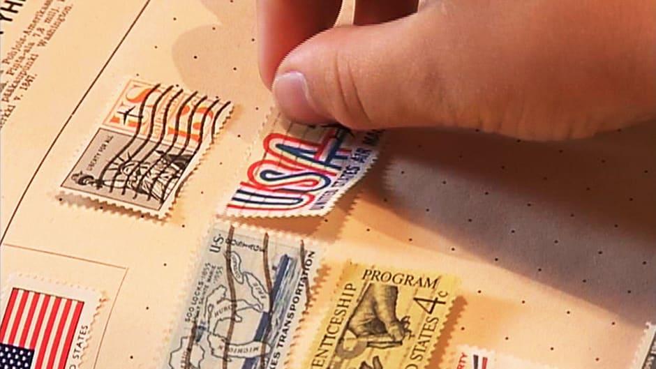 Postimerkkien Keräily