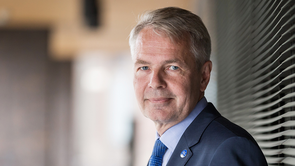 Pekka Haavisto video-stillbild