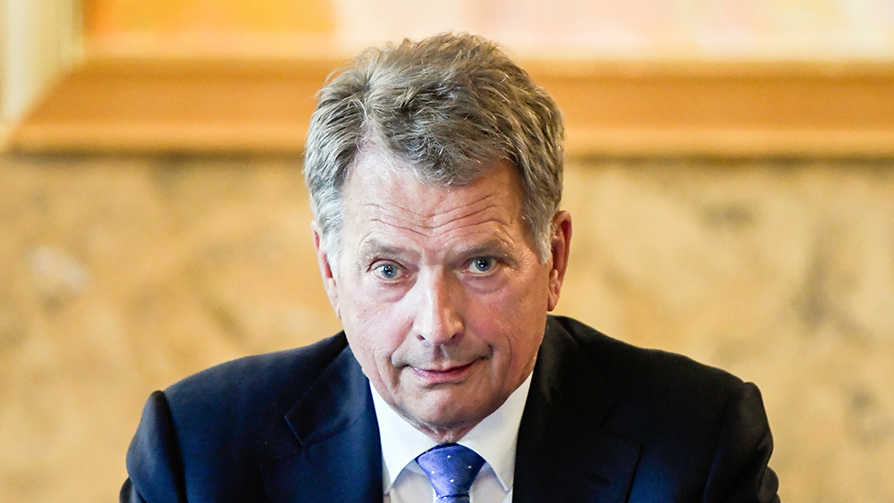 Sauli Niinistö video-stillbild