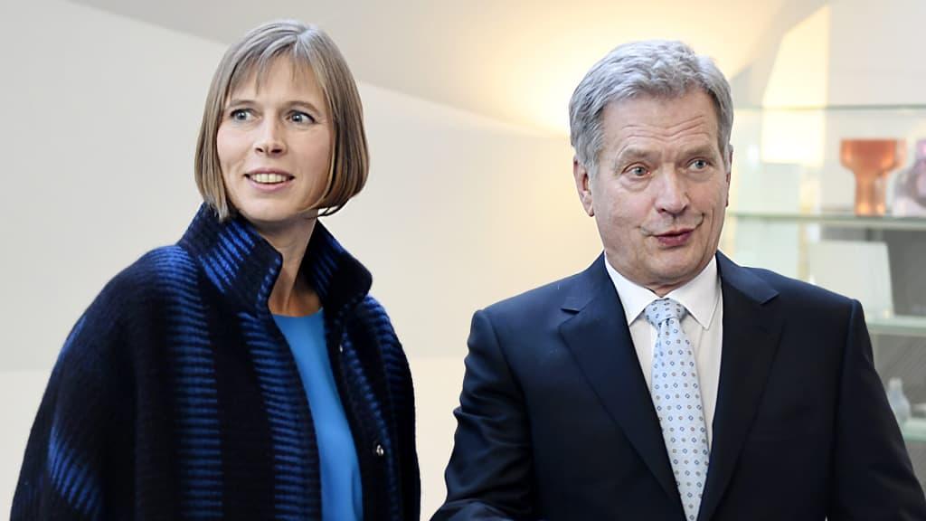 Viron presidentti valtiovierailulla – Lehdistötilaisuus suorana | TV | Areena | yle.fi