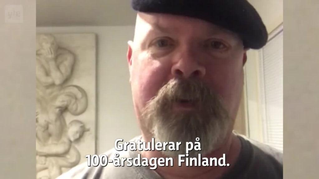grattis finska Jamie i Amerika   Grattis Finland 100 år   TV   Areena   yle.fi grattis finska