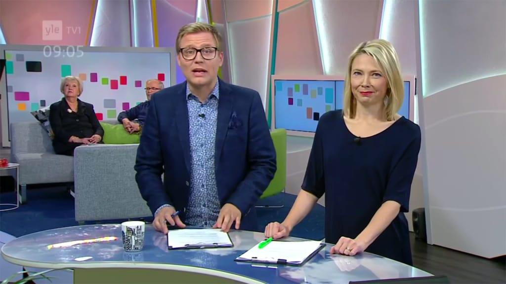 suomi pornotähti yle homo tv1 aamu tv