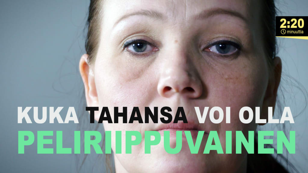 Peliriippuvuus ei näy naamasta | Kioski trending | TV | Areena | yle.fi