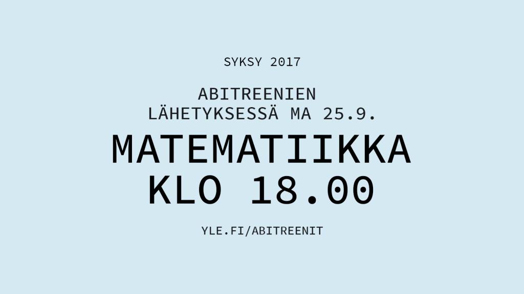 Yo Pitkä Matematiikka