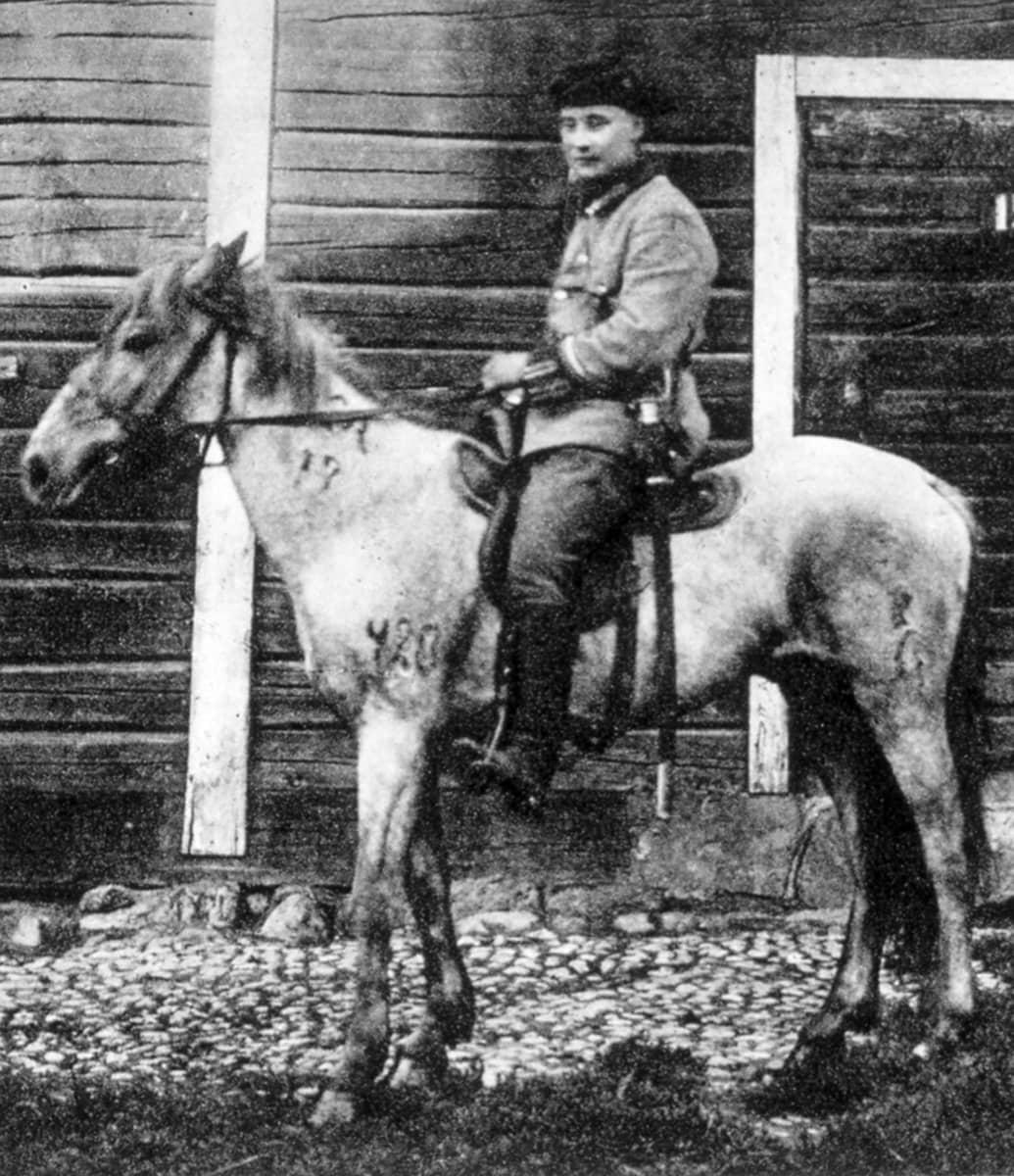 Saksanniemien ratsupoliisi