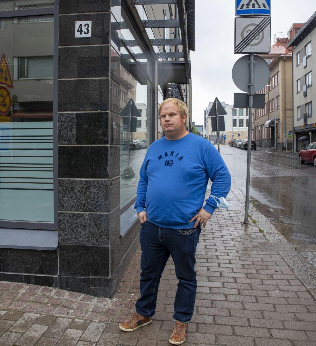 Yit:n aluepäällikkö Jussi Koskela.