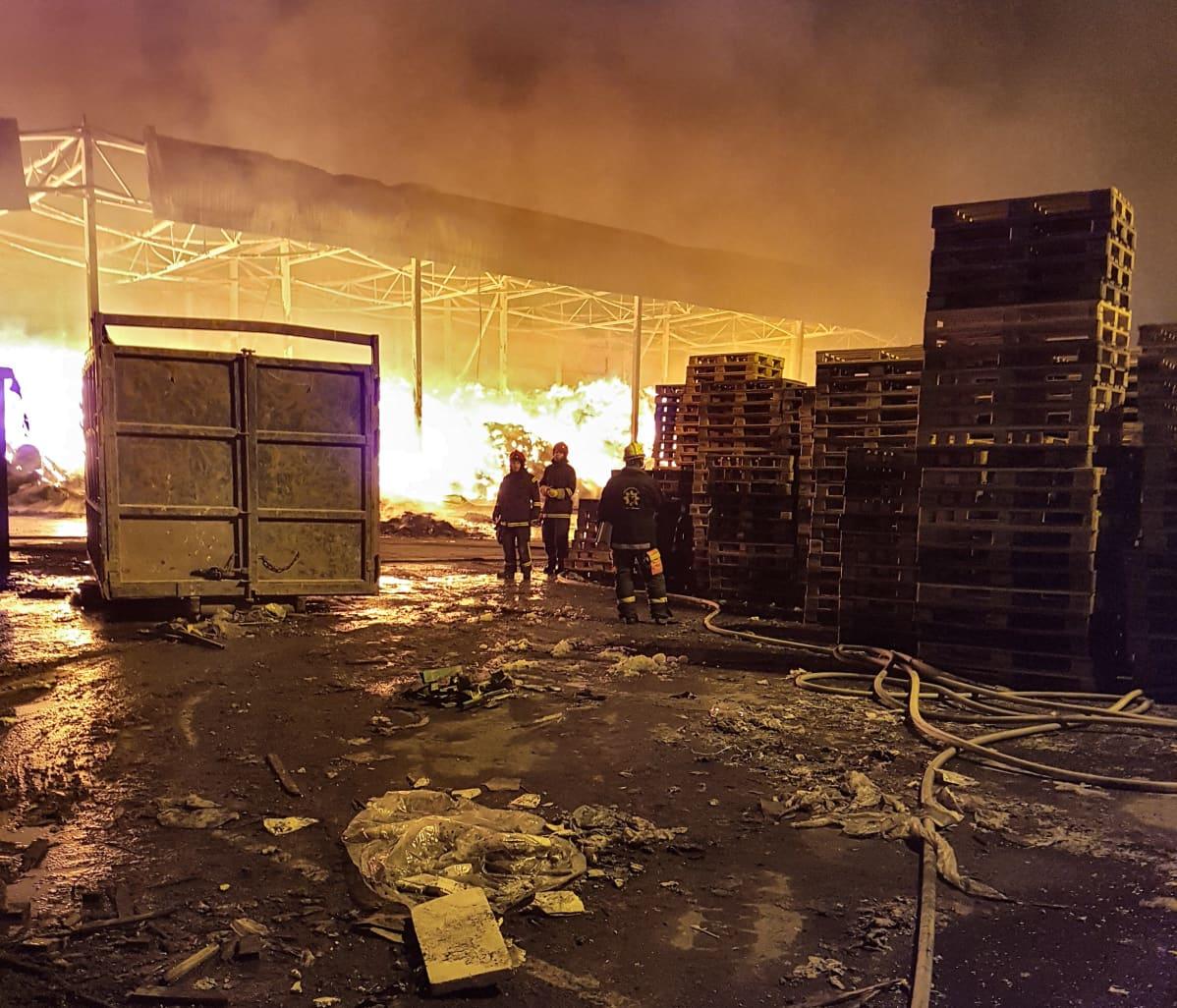 Vantaa Tulipalo