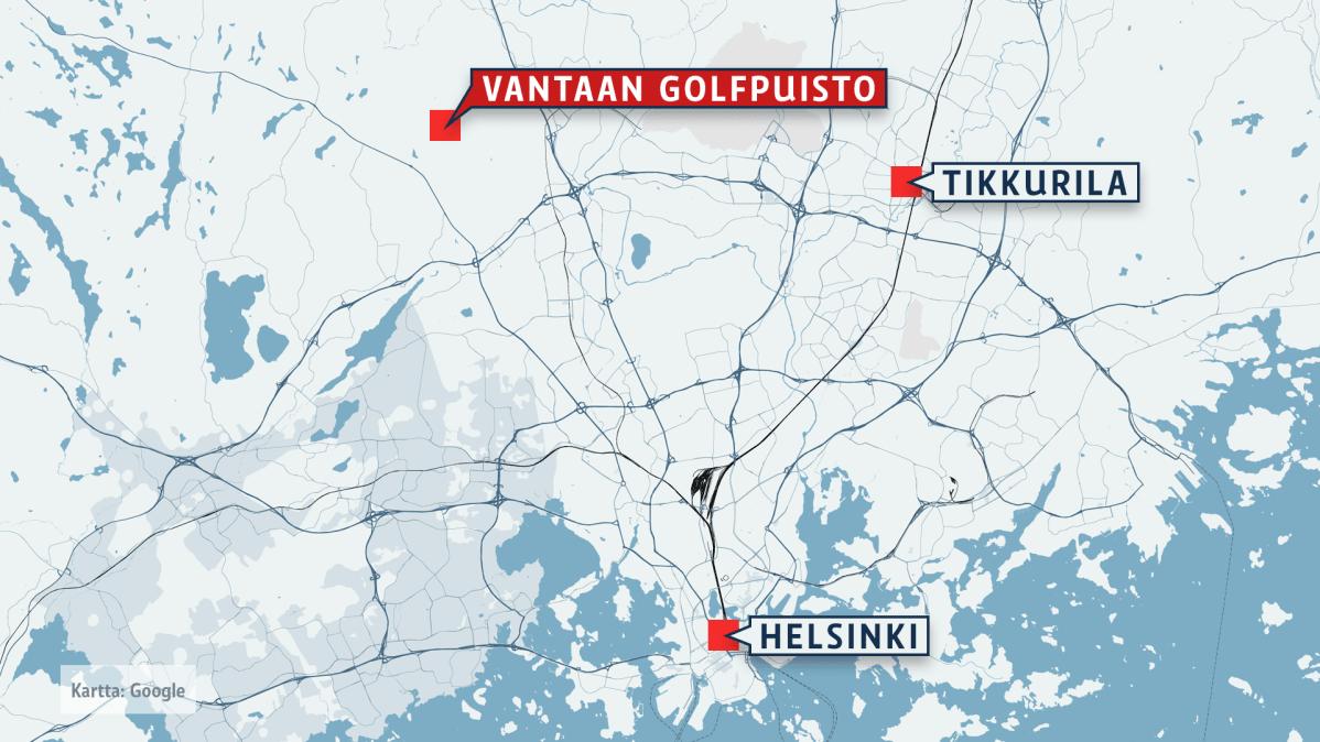 Karttapalvelu Vantaa