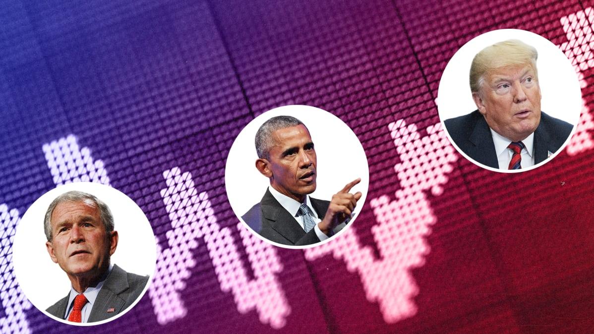 Trump ottaa kunnian Yhdysvaltain talouskasvusta – Mutta miten paljon presidentti voi vaikuttaa ...