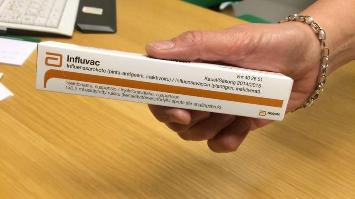 Influenssarokote
