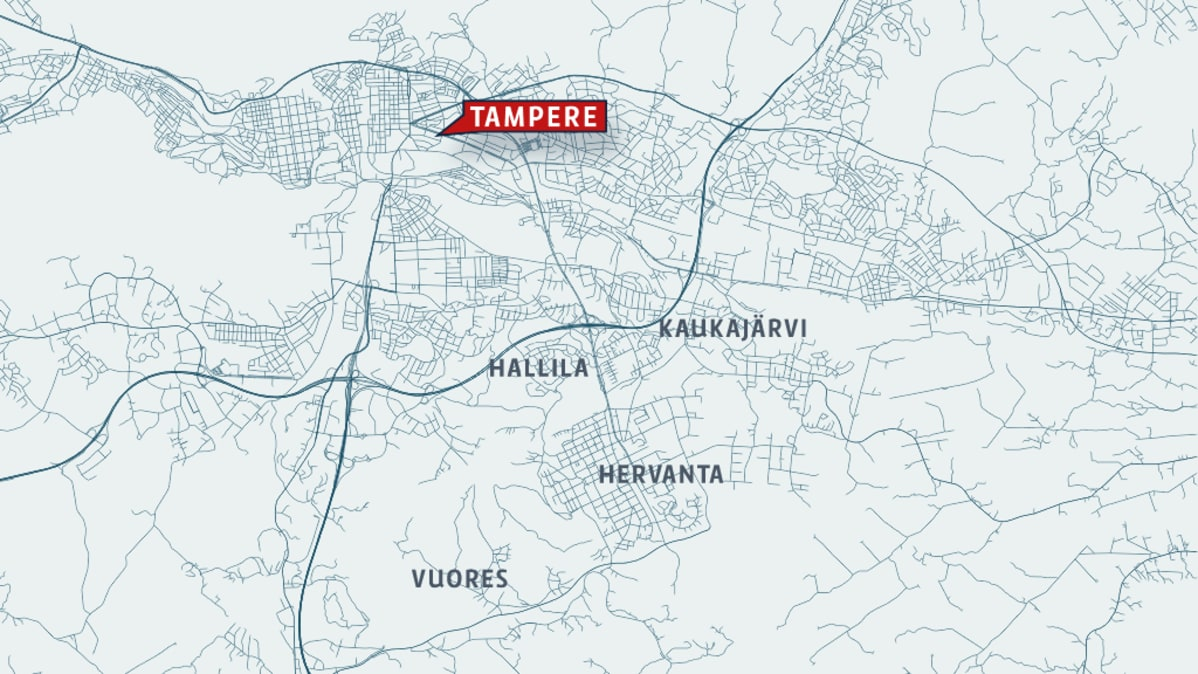 Tampere Alueet