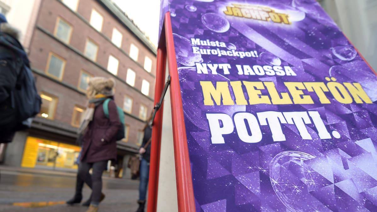 Suomen kaikkien aikojen suurimman Eurojackpot-voiton saaja löytynyt | Yle Uutiset | yle.fi