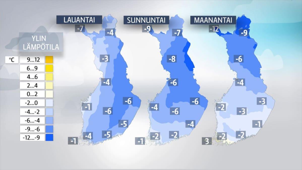 Lumitilanne Suomi