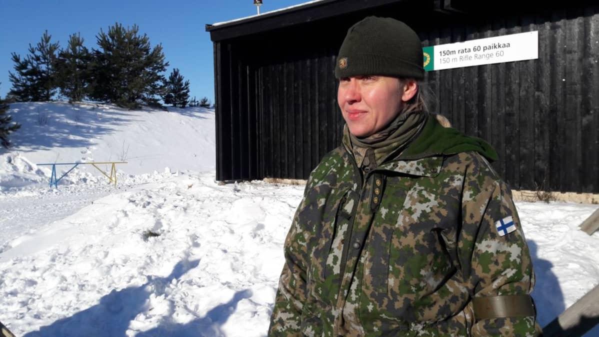 Kapteeni Hanna Lehtinen