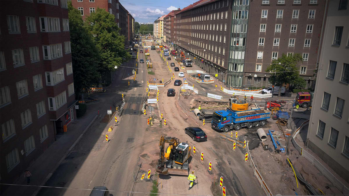 Joukkoliikenne Helsinki