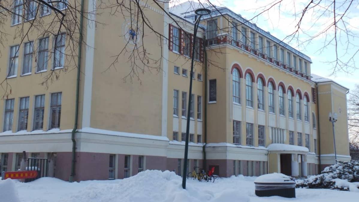 Länsi Porin Koulu Liikunta