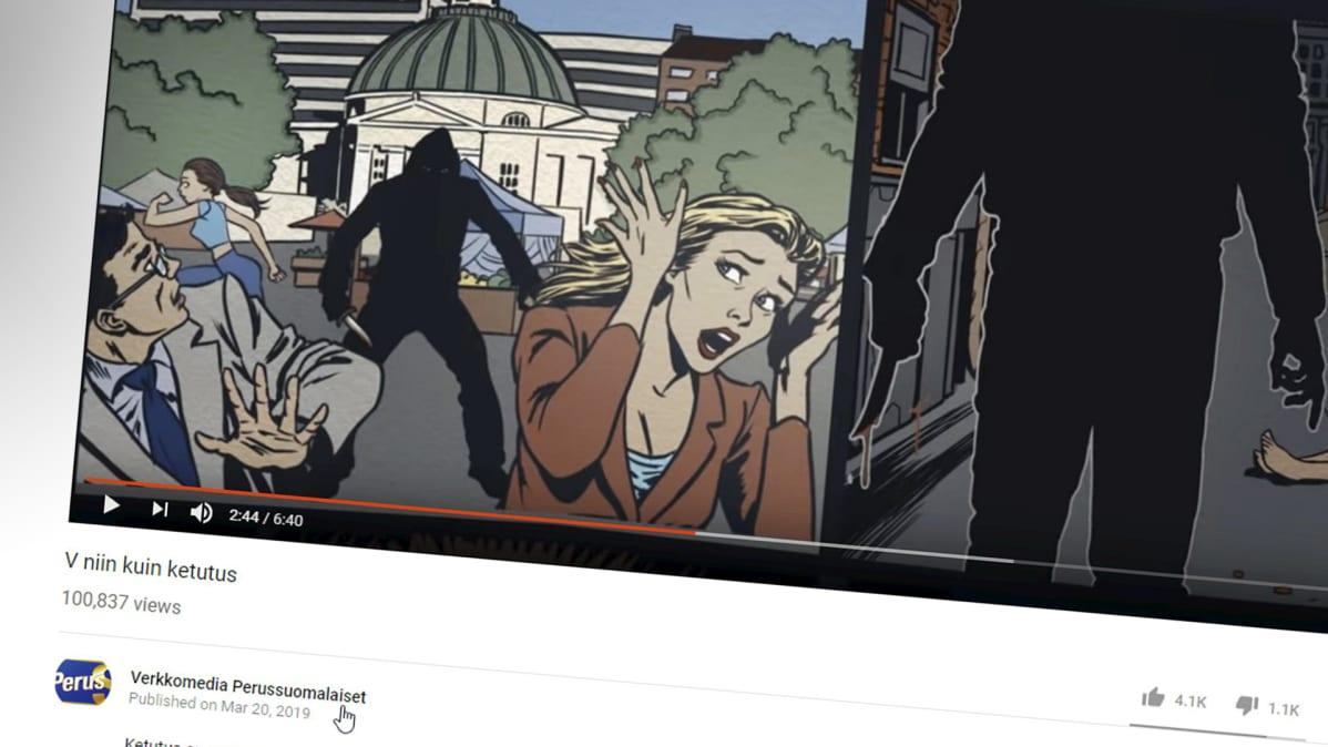 Perussuomalaisten Vaalivideo