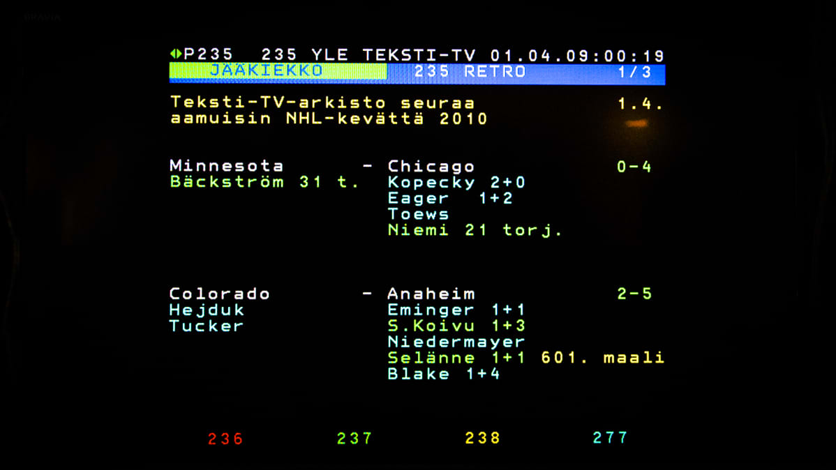 Teksti Tv 235