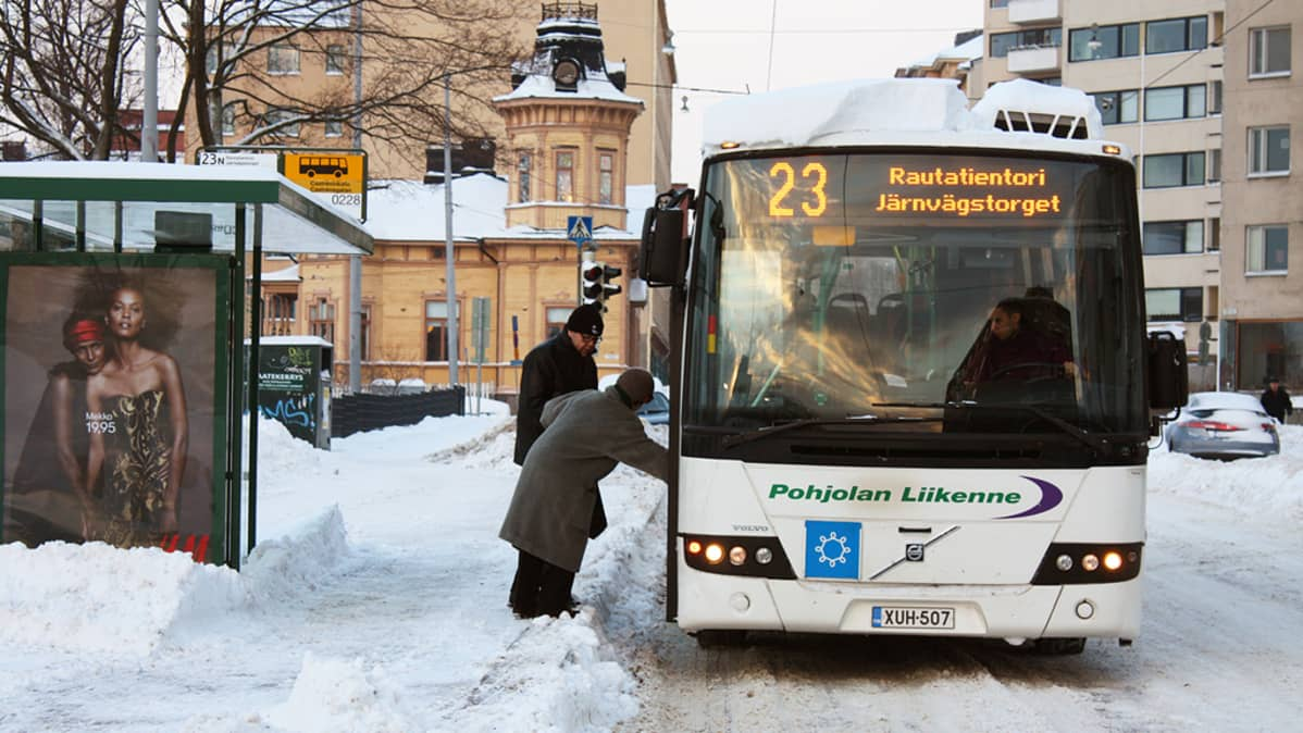 Bussinkuljettajan Palkka