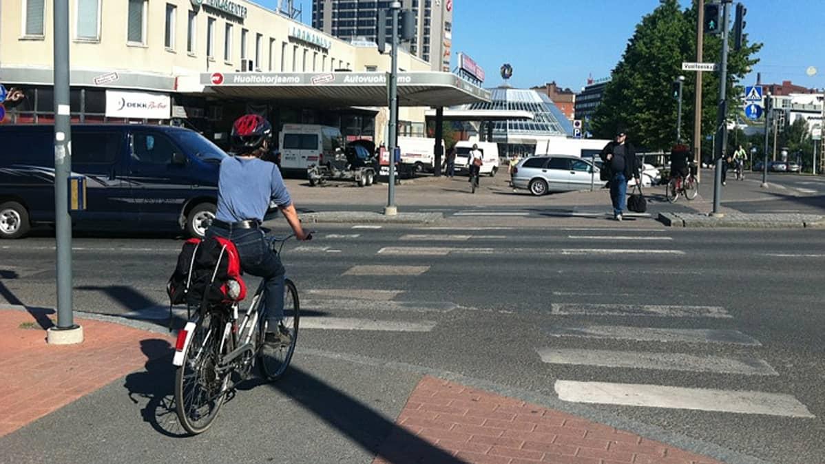 Pyöräily Liikennesäännöt