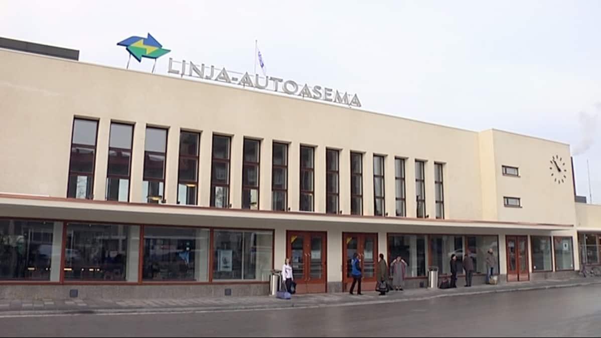 Tampereen Linja-Autoaseman Liikennejärjestelyt