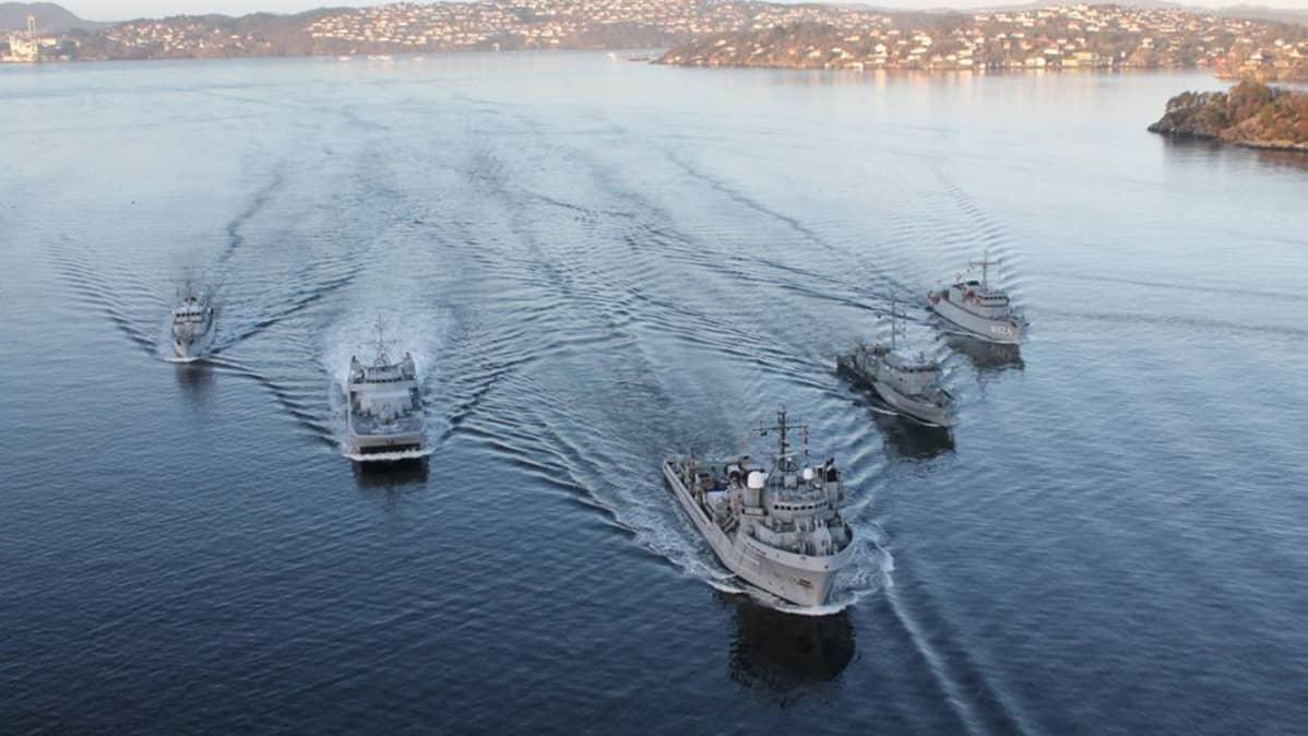 Merivoimien Alukset