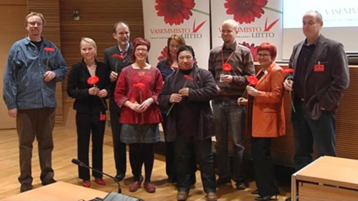 Eurovaaliehdokkaat Vasemmistoliitto