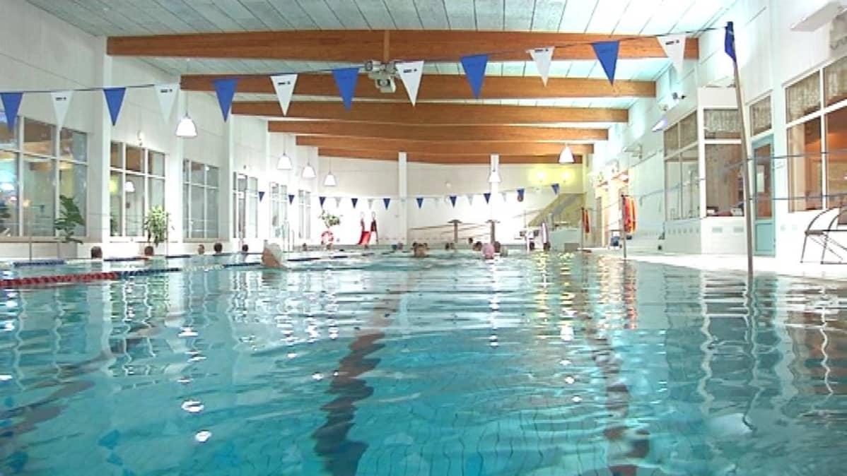 Uimahallin Veden Lämpötila