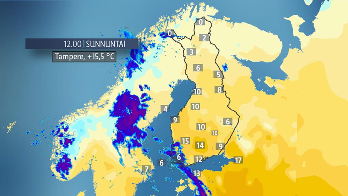 Suomen Lämpöennätys