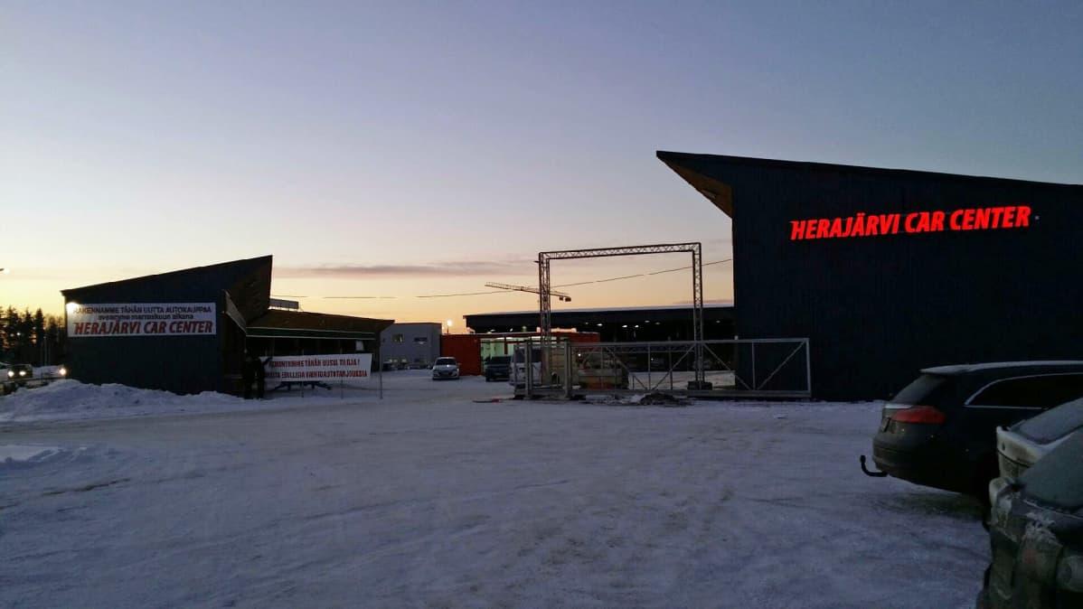 Herajärven Autoliike Rovaniemi