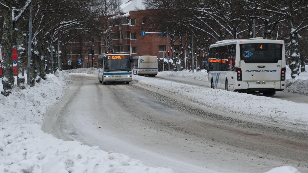 Joukkoliikenne.Kuopio