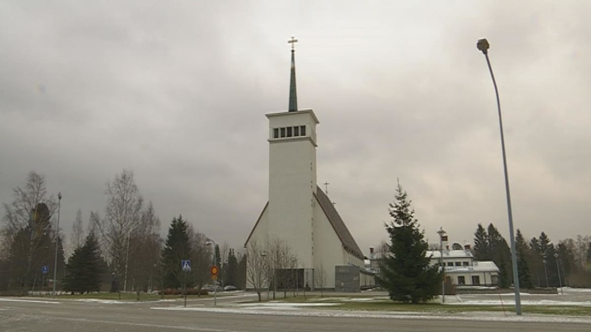 Teuvan Kirkko Alttaritaulu