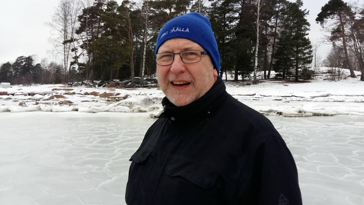 Jäätilanne Merellä