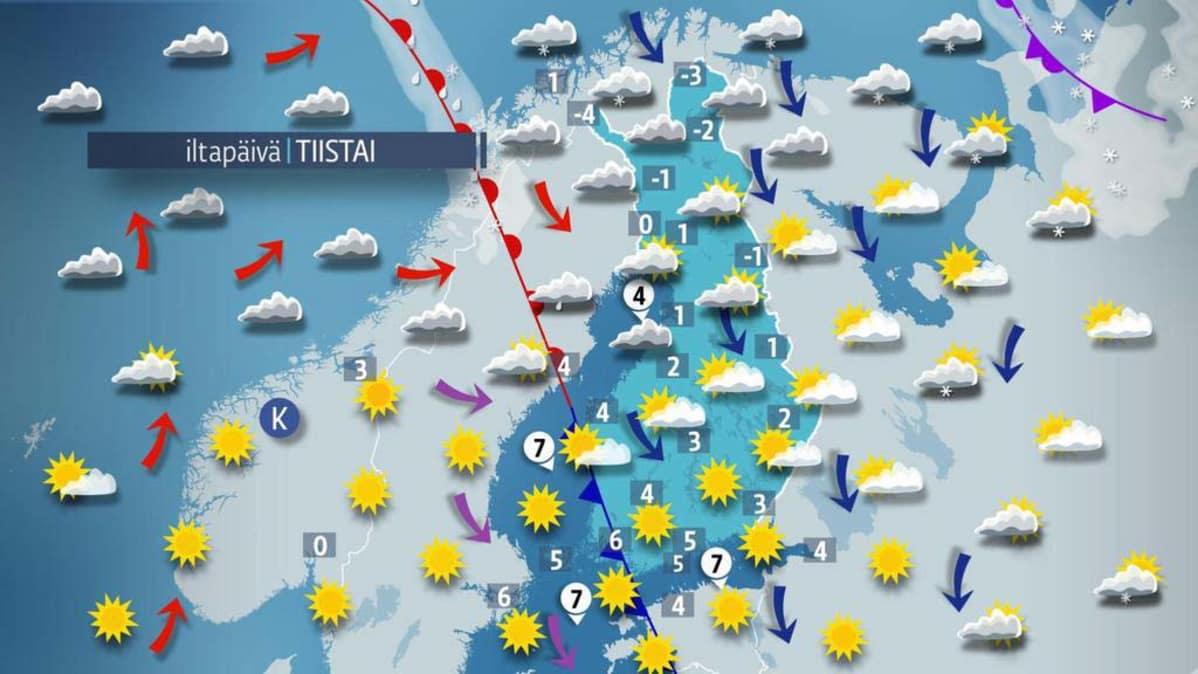 Lämpöennätys Suomi