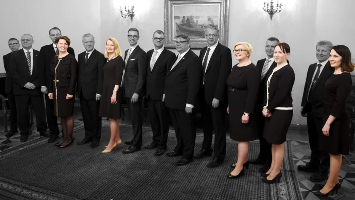 Sipilän Hallitus Ministerit
