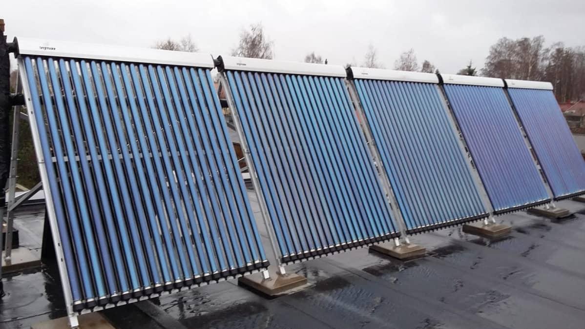 Aurinkopaneelit Kiinasta