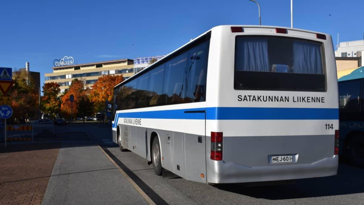Satakunnan Liikenne Pori Helsinki