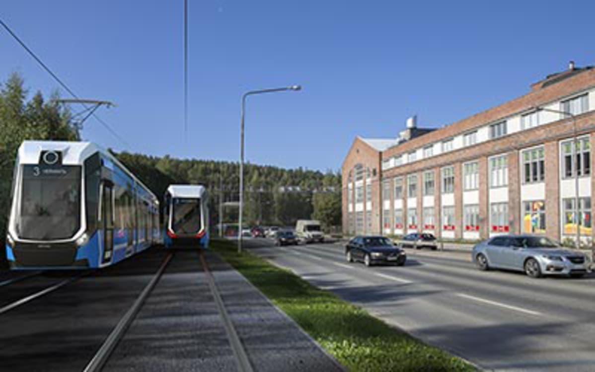 Ratikkaratkaisu yhtä päätöstä vaille valmis – Tampereen kaupunginhallitus puoltaa rakentamista ...