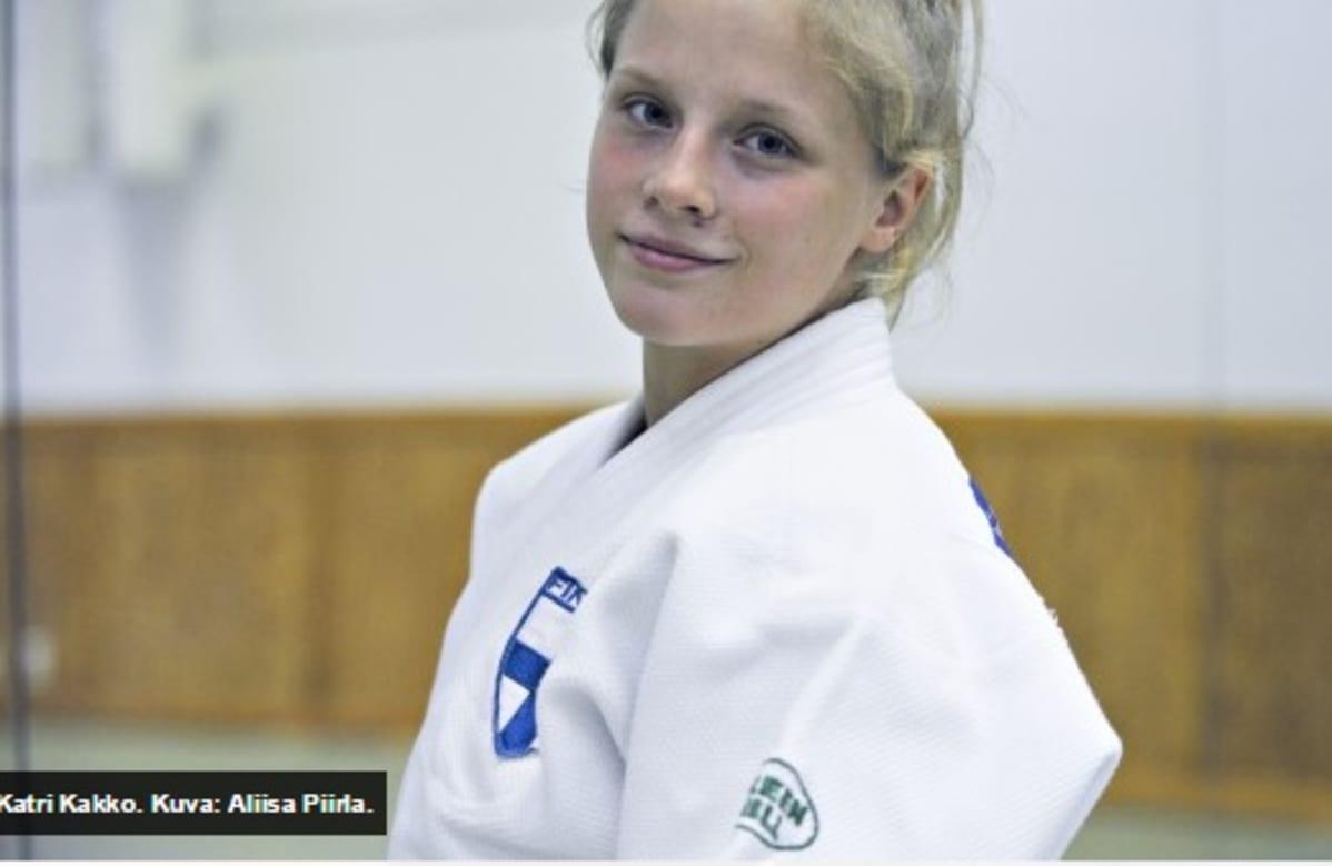Katri Kakko Minskin European Openissa Hopealle