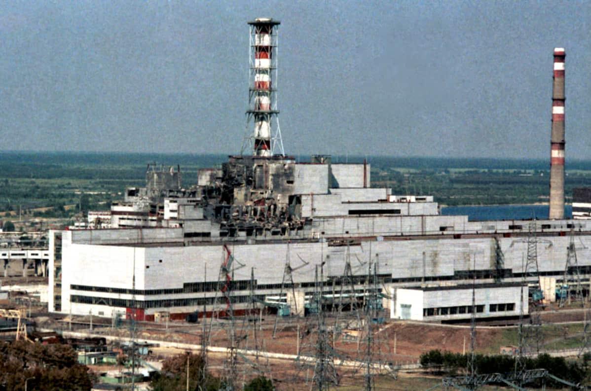 Tšernobylin Ydinvoimalaonnettomuus