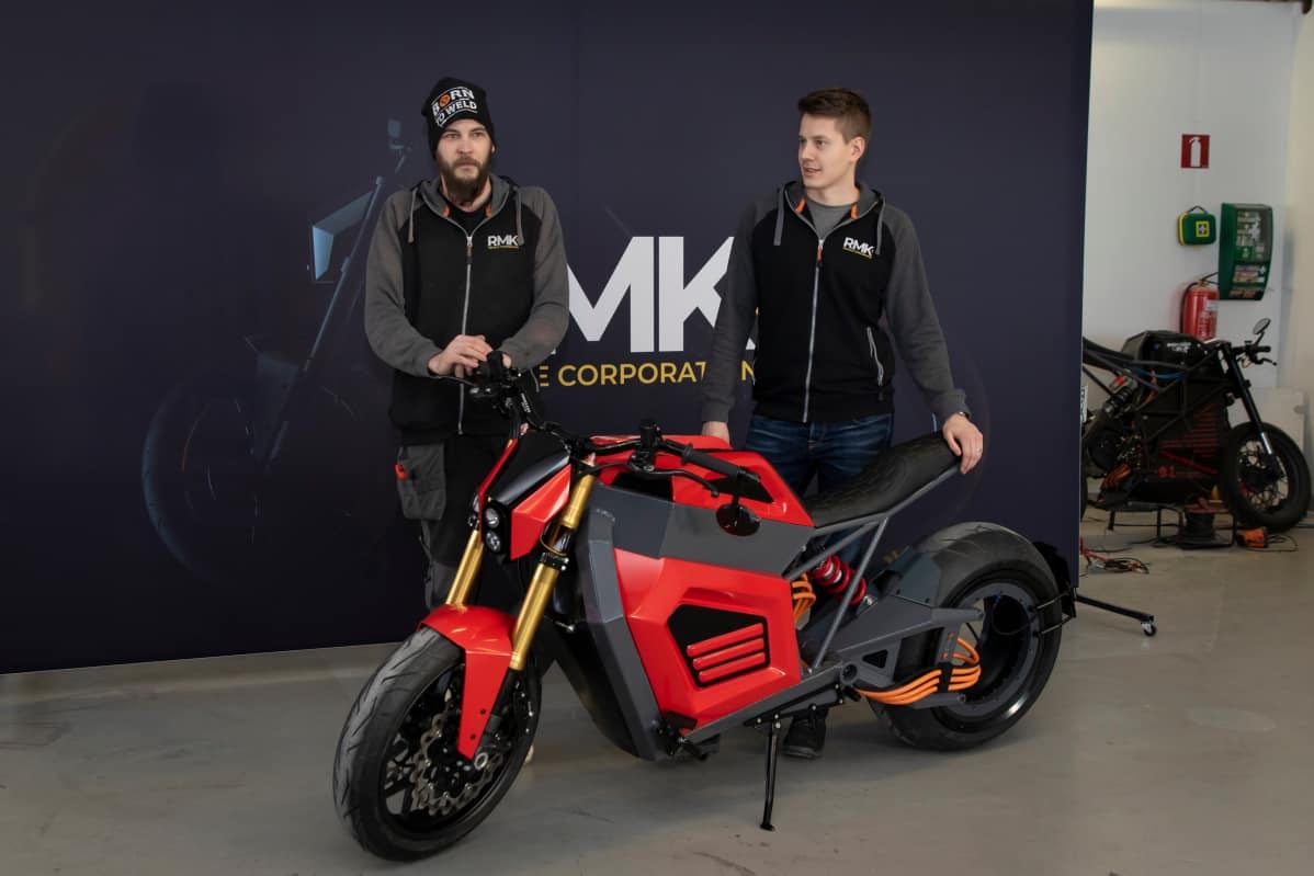 Suomalainen Sähkömoottoripyörä