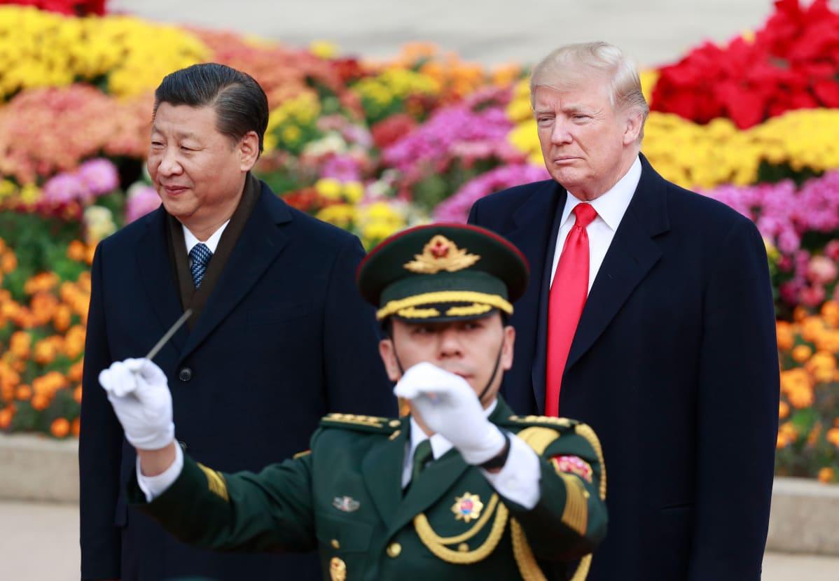 Yhdysvaltojen ja Kiinan presidentit tapasivat – tietoa keskustelujen sisällöstä odotetaan | Yle ...