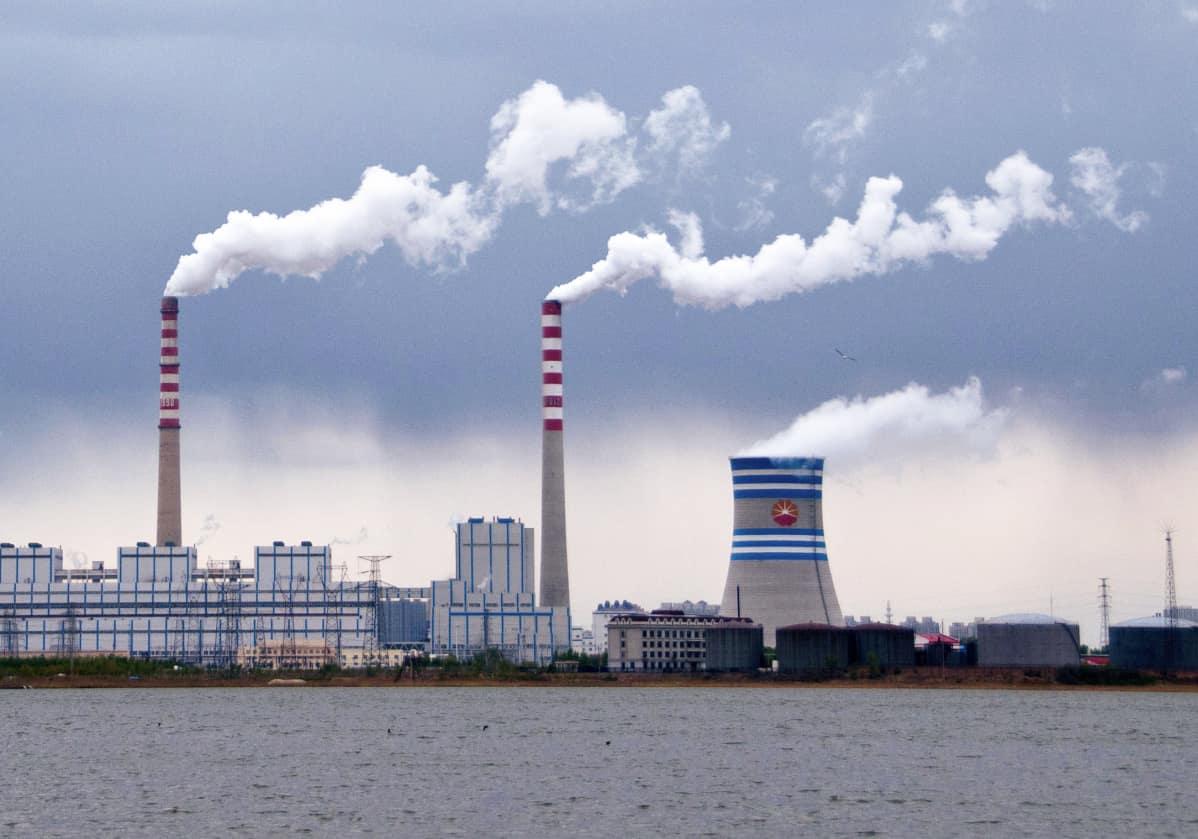 Kiinan Hiilidioksidipäästöt