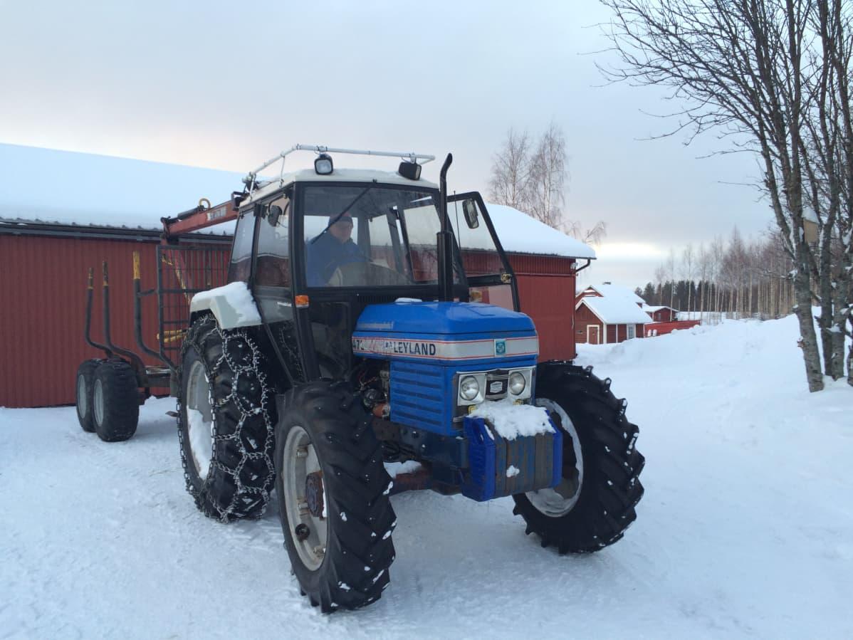 Traktori Ruotsista