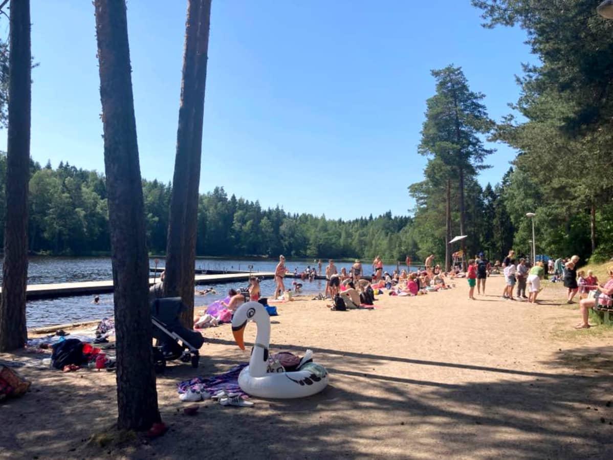 Kuusijärven Uimaranta