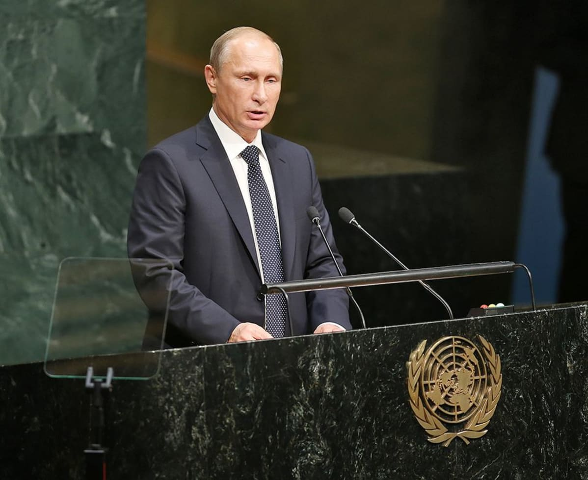 Самое громкое выступление в ООН - это выступление Президента РФ
