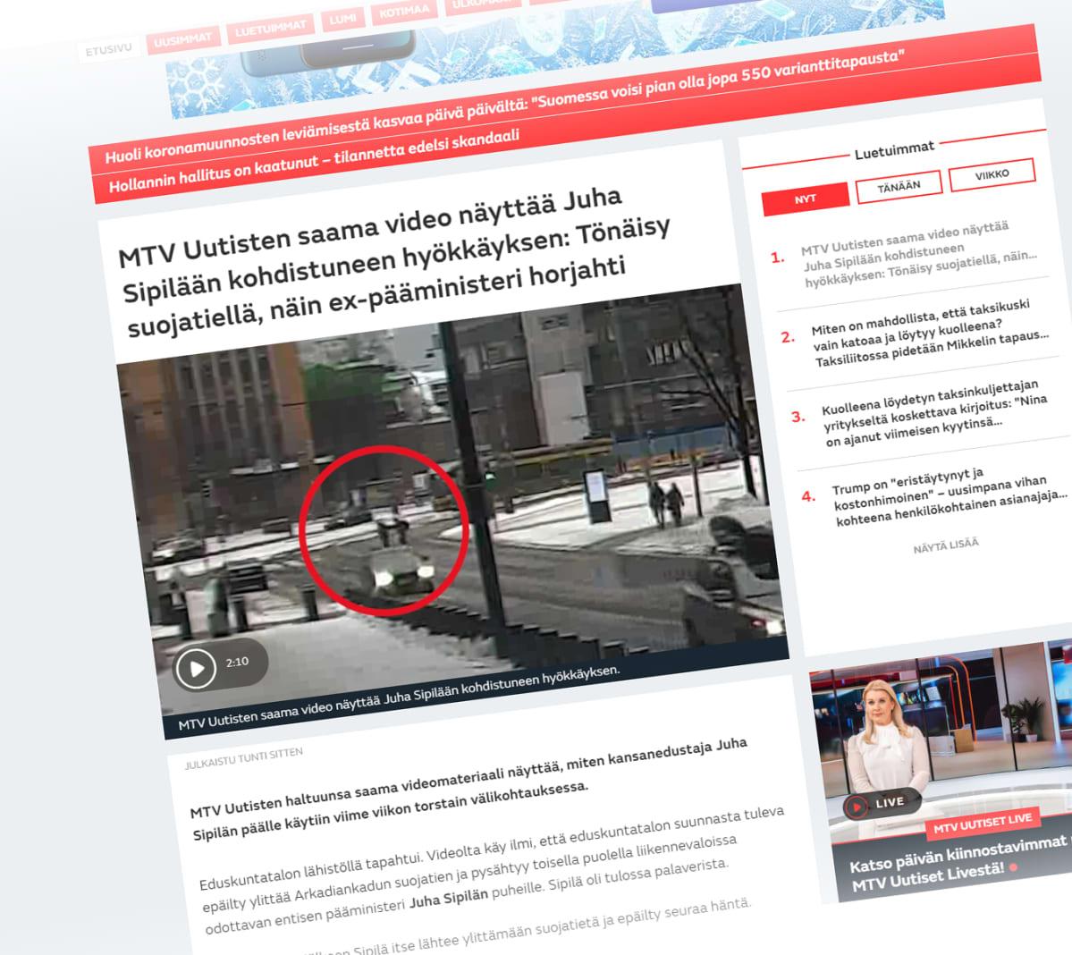 Mtv:N Uutiset